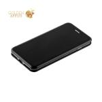 Кожаный чехол-книжка для iPhone 8 Plus Fashion Case Slim-Fit Black, цвет черный