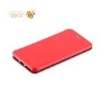 Кожаный чехол-книжка для iPhone 8 Plus Fashion Case Slim-Fit Red, цвет красный