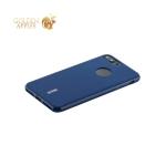 Силиконовый чехол накладка для iPhone 8 Plus Cherry 0.4 мм & пленка, цвет синий