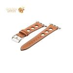 Кожаный ремешок для Apple Watch (38 mm) COTEetCI W15 Fashion LEATHER с отверстиями (WH5220-KR-38), цвет коричневый