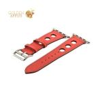 Ремешок кожаный COTEetCI W15 Fashion LEATHER с отверствиями (WH5220-RD-38) для Apple Watch 40мм Красный