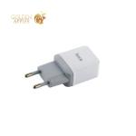 Сетевое зарядное устройство с кабелем Lightning Hoco C22A Little superior charger (USB: 5V max 1A), цвет белый