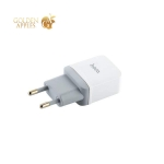 Сетевое зарядное устройство с кабелем MicroUSB Hoco C22A Little superior charger (USB: 5V max 1A), цвет белый