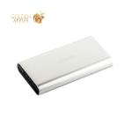 Внешний аккумулятор Remax Vanguard power bank (2USB: 5V-2.1A/1.0A) - 10000 mAh Silver, цвет серебристый