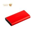 Внешний аккумулятор Remax Vanguard power bank (2USB: 5V-2.1A/1.0A) - 10000 mAh Red, цвет красный