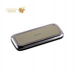 Внешний аккумулятор Remax RPP 35 Mirror power bank (USB: 5V-1.0A) - 5500 mAh Black, цвет черный