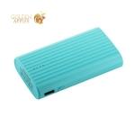 Внешний аккумулятор Remax PPL 18 Ice-Cream power bank (2USB: 5V-2.1A/1.0A) - 10000 mAh Blue, цвет синий