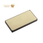 Внешний аккумулятор Remax PPP 12 Proda Superalloy power bank (2USB: 5V-2.0A) - 10000 mAh Gold, цвет золотистый