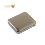 Внешний аккумулятор Remax PPL 21 Mink power bank (USB: 5V-1.2A) - 5000 mAh White, цвет белый