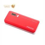 Внешний аккумулятор Remax PPL 6 V10i power bank (2USB: 5V-2.1A/1.0A) - 20000 mAh Red, цвет красный