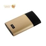 Внешний аккумулятор Remax RPP 27 Perfume power bank (2USB: 5V-2.1A) - 10000 mAh Gold, цвет золотистый