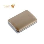Внешний аккумулятор Remax PPL 22 Mink power bank (2USB: 5V-2.0A) - 10000 mAh Gold, цвет золотистый