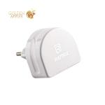 Адаптер питания Remax RP-U22 RMT7188 Moon Charger Plug (2USB: 5V 1.0A & 5V 2.1A) Белый