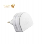 Сетевое зарядное устройство Remax RP-U31 Moon Charger Plug (3USB: 5V 1.0A / 1.0A / 2.0A), цвет белый