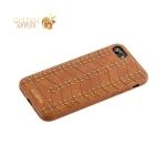 Кожаная накладка для iPhone 8 Santa Barbara Polo & Racquet Club Armor Series, цвет коричневый