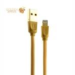 Lightning кабель USB Remax Radiance Cable fast charging (1.0 м), цвет золотистый
