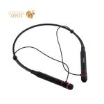 Беспроводные вакуумные наушники вкладыши Remax RB-S6 Neckband Bluetooth Earphone Black, цвет черный