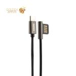 USB дата-кабель Remax Emperor Series Cable (RC-054a) Type-C 2.1A круглый (1.0 м) Черный