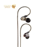 Наушники Remax RM-580 Dual Moving-Coil Earphone Black Черные