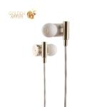Наушники Remax RM-530 Metal Hifi Earphone Gold Золотые
