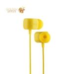 Наушники Remax RM-502 Crazy Robot In-ear Earphone Yellow Желтые