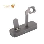Док-станция COTEetCI Base5 Dock для Apple Watch & iPhone XS/ 8 Plus/ 8/ SE/ iPod 2in1 stand CS2095-GY Серая