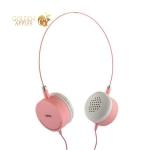 Наушники Remax RM-910 накладные Wired Music Earphone Розовые