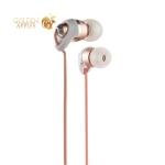 Наушники Remax RM-585 Metal Touching Earphone Pink Розовые