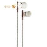 Наушники Remax RM-530 Metal Hifi Earphone Rose gold Розовое золото
