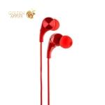 Наушники Remax RM-569 Wire Earphone Red Красные