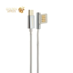 USB дата-кабель Remax Emperor Series Cable (RC-054a) Type-C 2.1A круглый (1.0 м) Белый