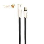 USB дата-кабель Hoco X4 Zinc Alloy rhombus Type-C (1.0м) Черный