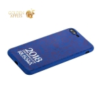 Чехол-накладка TPU Deppa D-103927 ЧМ по футболу FIFA™ Official Logotype для iPhone 7 Plus Синий