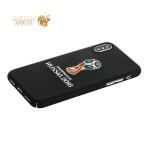 Чехол-накладка PC Deppa D-103940 ЧМ по футболу FIFA™ Official Emblem для iPhone X (5.8)