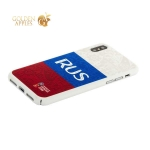 Чехол-накладка PC Deppa D-103941 ЧМ по футболу FIFA™ Flag Russia для iPhone X (5.8)