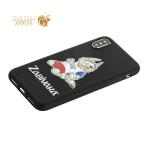 Чехол-накладка TPU Deppa D-103948 ЧМ по футболу FIFA™ Zabivaka 3 для iPhone X (5.8)