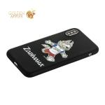 Чехол-накладка TPU Deppa D-103949 ЧМ по футболу FIFA™ Zabivaka 4 для iPhone X