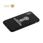 Чехол-накладка TPU Deppa D-103950 ЧМ по футболу FIFA™ Official Emblem для iPhone X Белый