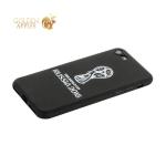 Чехол-накладка TPU Deppa D-103902 ЧМ по футболу FIFA™ Official Emblem для iPhone 7 (4.7) Белый