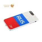 Чехол-накладка PC Deppa D-103917 ЧМ по футболу FIFA™ Flag Russia для iPhone 8 Plus