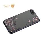 Чехол-накладка Kingxbar для iPhone 8 пластик со стразами Swarovski 01C черный (Сновидение)