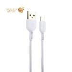 USB дата-кабель Hoco X20 Flash Type-C (1.0 м) Белый