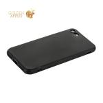 Чехол силиконовый для iPhone 7 (4.7) уплотненный в техпаке (черный)