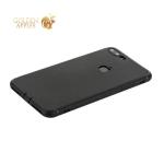 Чехол силиконовый для iPhone 8 Plus уплотненный в техпаке (черный)