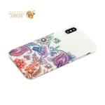 Накладка силиконовая Beckberg Surpassingly beautiful series для iPhone XS со стразами Swarovski вид 5