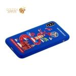 Чехол-накладка TPU Deppa D-103957 ЧМ по футболу FIFA™ Kaliningrad для iPhone X