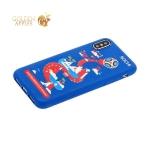 Чехол-накладка TPU Deppa D-103959 ЧМ по футболу FIFA™ Sochi для iPhone X