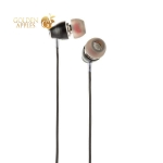 Наушники Hoco M28 Ariose Universal Earphones with mic (1.2 м) с микрофоном Black Черные