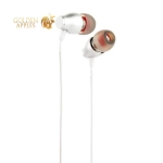 Наушники Hoco M28 Ariose Universal Earphones with mic (1.2 м) с микрофоном White Белые