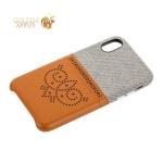 Чехол-накладка xOOMZ для iPhone XS Brogue Series Card Slot Back Cover (xIx24) Коричневый